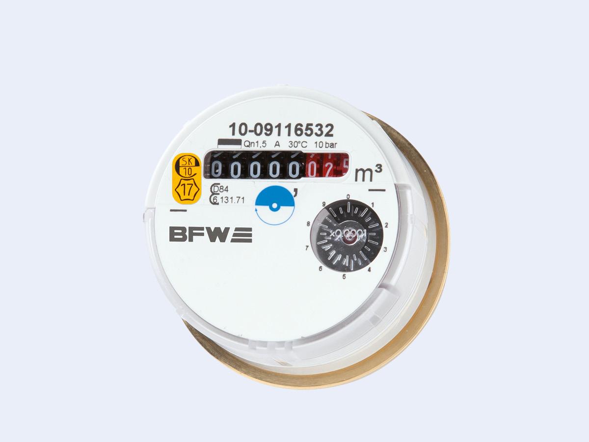 BFW Ritter Wasserzähler BFW 300
